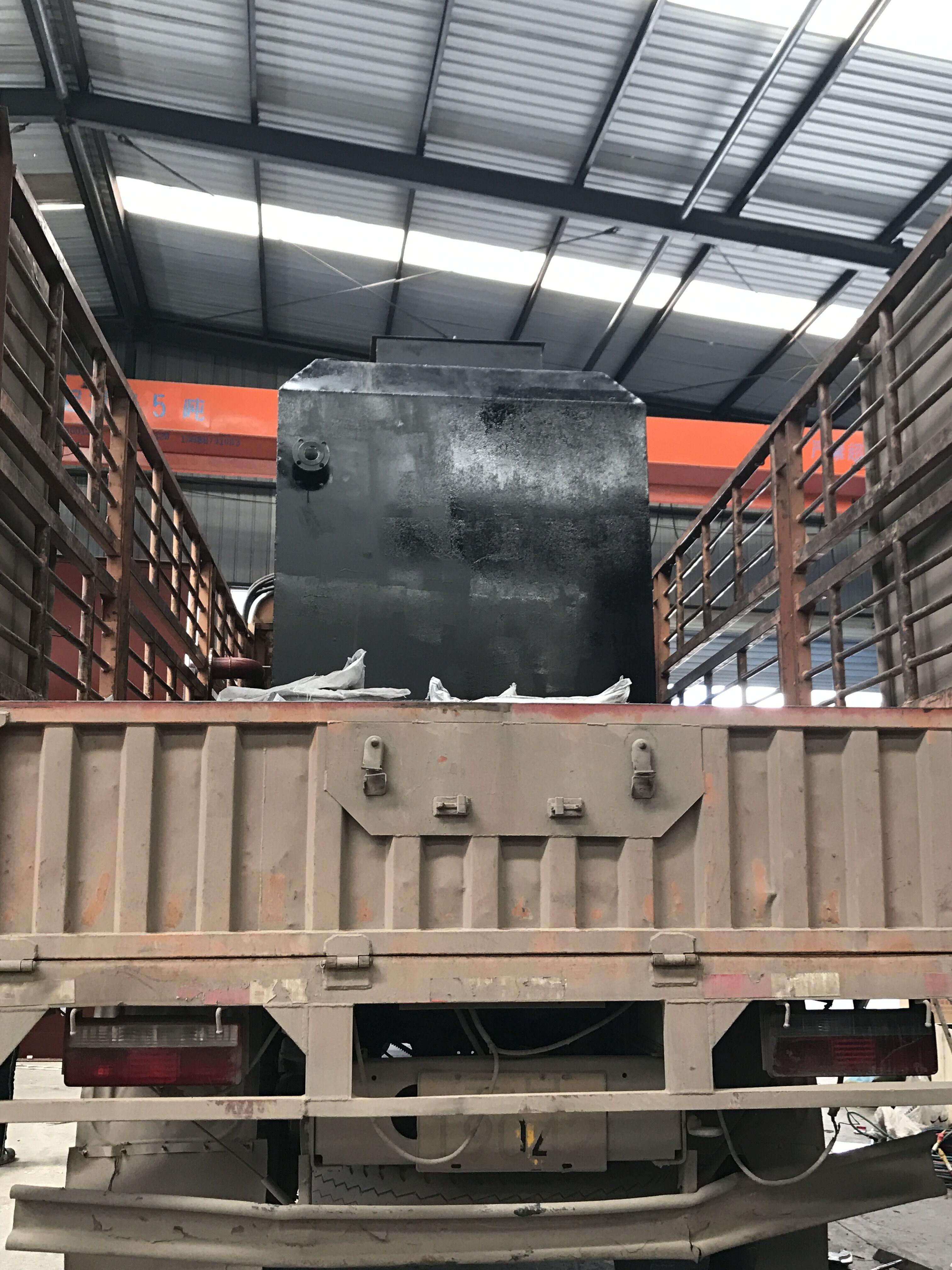 西畴县鸡街乡地埋式污水处理设备DWJ-20发货